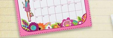 Hanging Calendar in Va Va Bloom