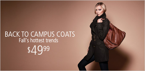 Back to Campus Coats