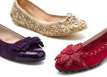 Flat Out Chic Fall Ready Ballet Flats