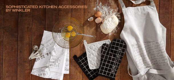 SOPHISTICATED KITCHEN ACCESSORIES BY WINKLER, Event Ends August 23, 9:00 AM PT >