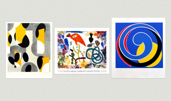 Lincoln Center Abstract Art   -- Visit Event