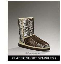 Classic Short Sparkles - Champagne