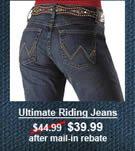 Women's Wrangler Ultimate Riding Jeans