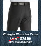 Wrangler Wrancher Pants