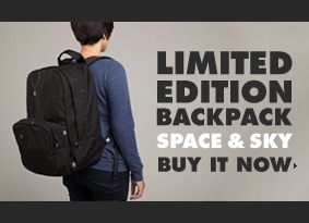 Space & Sky Backpack Available Now