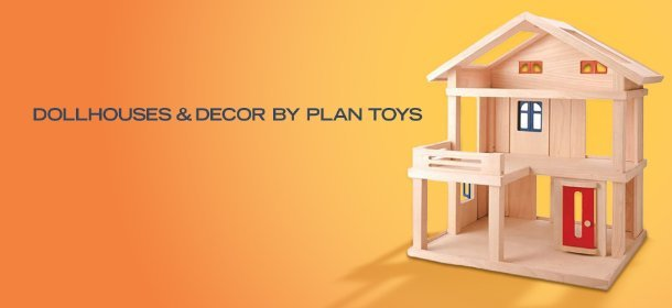 DOLLHOUSES & DECOR BY PLAN TOYS, Event Ends August 25, 9:00 AM PT >