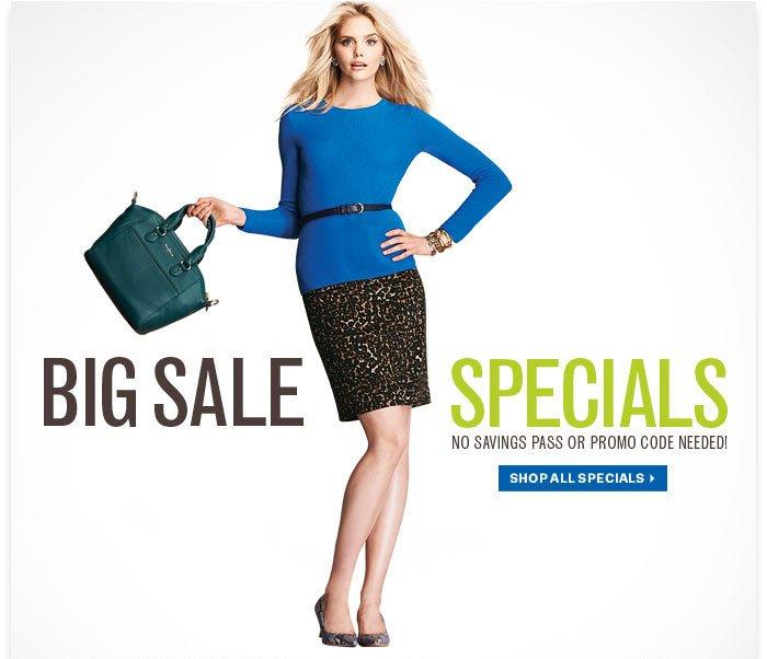 Big Sale Specials
