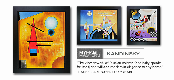 MYHABIT MASTERS: KANDINSKY, Event Ends August 24, 9:00 AM PT >
