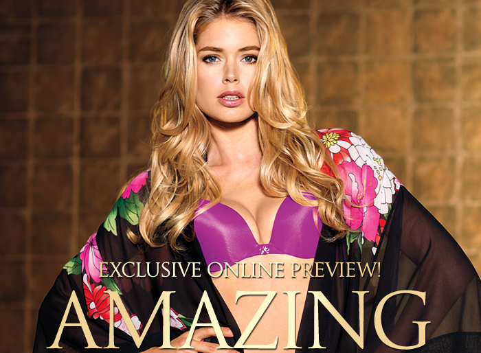 EXCLUSIVE ONLINE PREVIEW! AMAZING BY VICTORIA'S SECRET