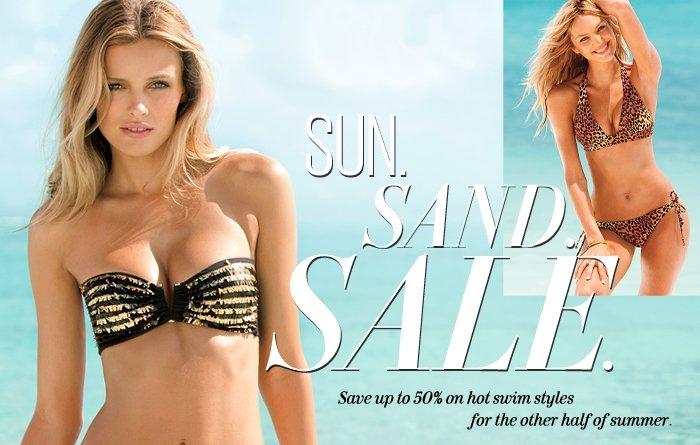 SUN. SAND. SALE.