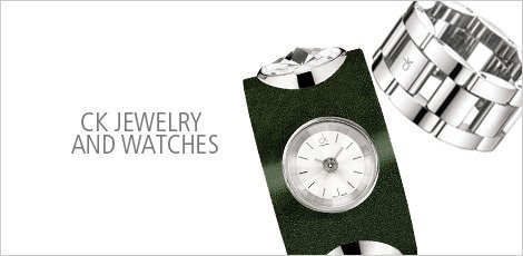 CK Jewelry and Watches