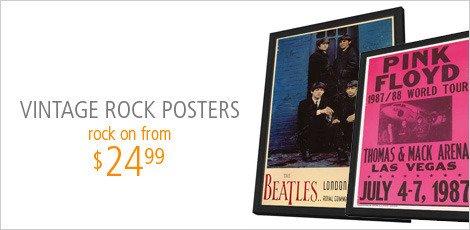 Vintage Rock Posters