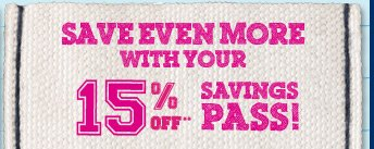 Savings Pass