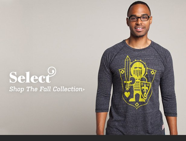 Select: Shop the Fall Collection