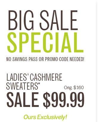 Big Sale Special