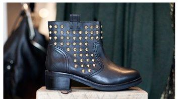 Apocalypse Studded Heavy Boots