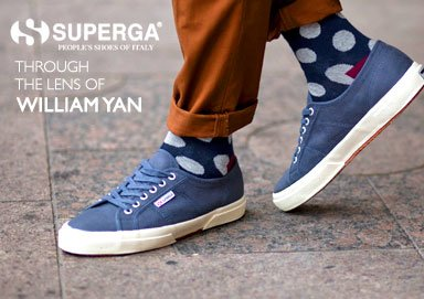 Shop William Yan for Superga