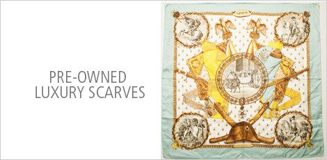Pre-Owned Luxury Scarves