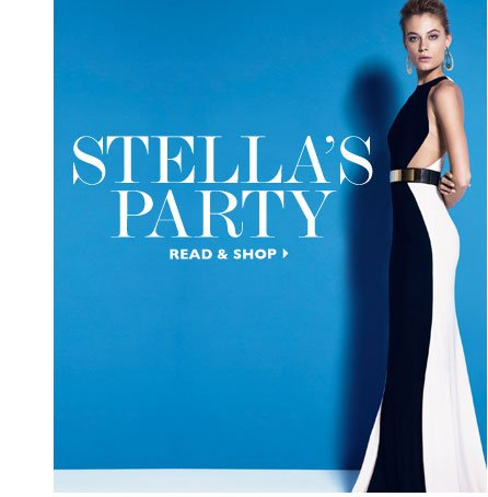 STELLAS PARTY. READ & SHOP