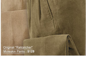 "Original ""Ratcatcher"" Moleskin Pants | $129"