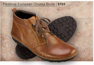 Pikolinos European Chukka Boots | $169