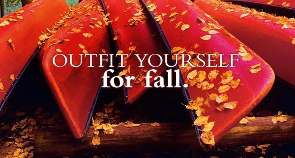 Outfit yourself for autumn.