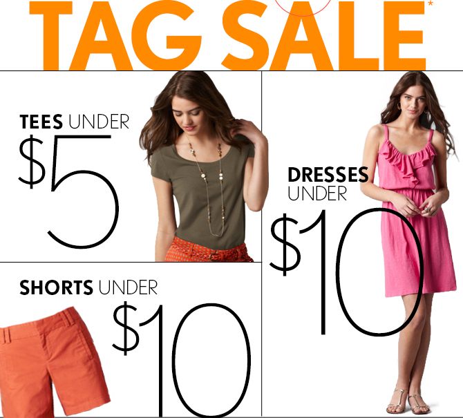 SUMMER TAG SALE*