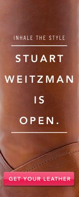Stuart Weitzman Is Open. Get Your Leather.
