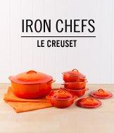 Iron Chefs. Le Creuset.