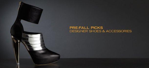 PRE-FALL PICKS: DESIGNER SHOES