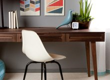 The Home Office Re-Do Mid-Century Modern