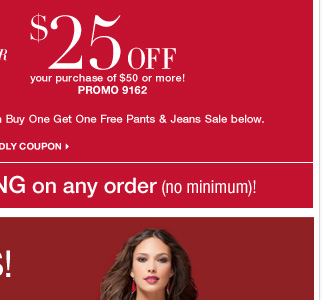 Last Day to use this in store and online coupon!  Shop Now