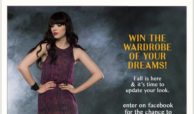 Win a Fall wardrobe!
