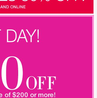 Last day to save with this in stores and online Coupon!  Shop Now