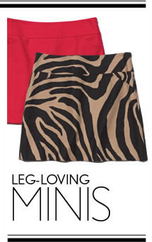 LEG-LOVING MINIS