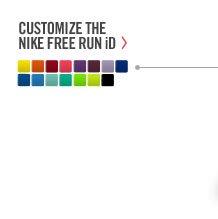 CUSTOMIZE THE NIKE FREE RUN iD >