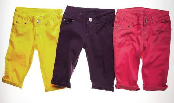 Cool Colored Denim for Back to School    -- Visit Event