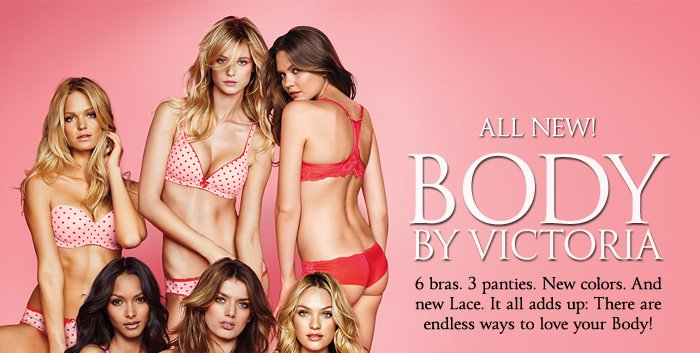 ALL NEW! BODY BY VICTORIA