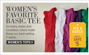 Shop Women's Basic T-Shirts