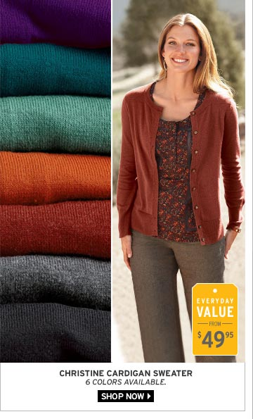 Christine Cardigan Sweater