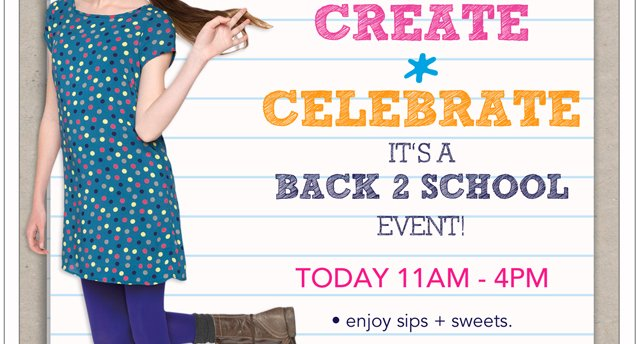 Back-to-school fun at Fashion Square