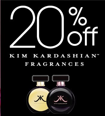 20% OFF Kim Kardashian Fragrances