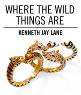 Where the Wild Things Are. Kenneth Jay Lane.