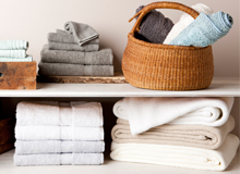The Well-Stocked Linen Closet Luxe Bedding & More
