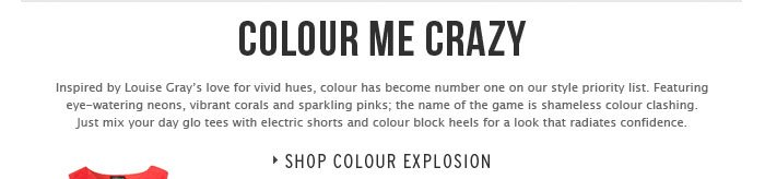 COLOUR ME CRAZY - Shop Colour Explosion