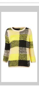 Knitted Battenburg Jumper