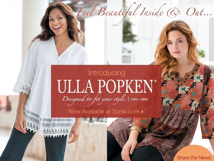 Introducing Ulla Popken!