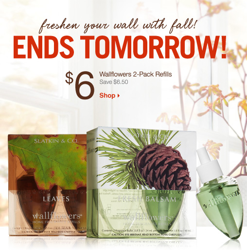 $6 Wallflowers 2–Pack Refills
