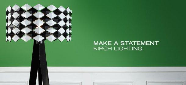 MAKE A STATEMENT: KIRCH LIGHTING, Event Ends August 28, 9:00 AM PT >