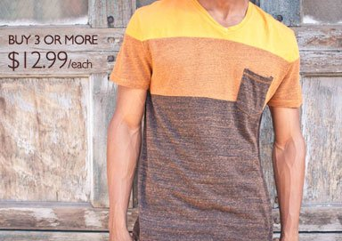 Shop The Trend: Bold Pocket Tees